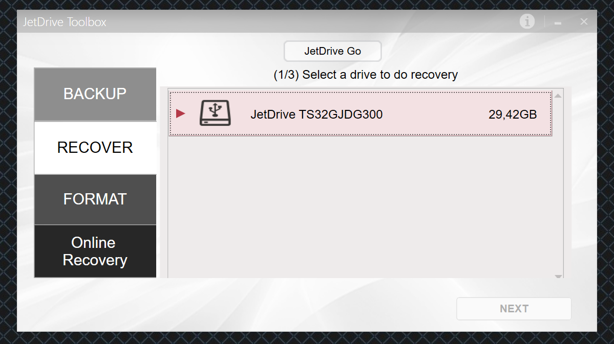 Обзор флешки USB-Lightning Transcend JetDrive Go 300K - 13