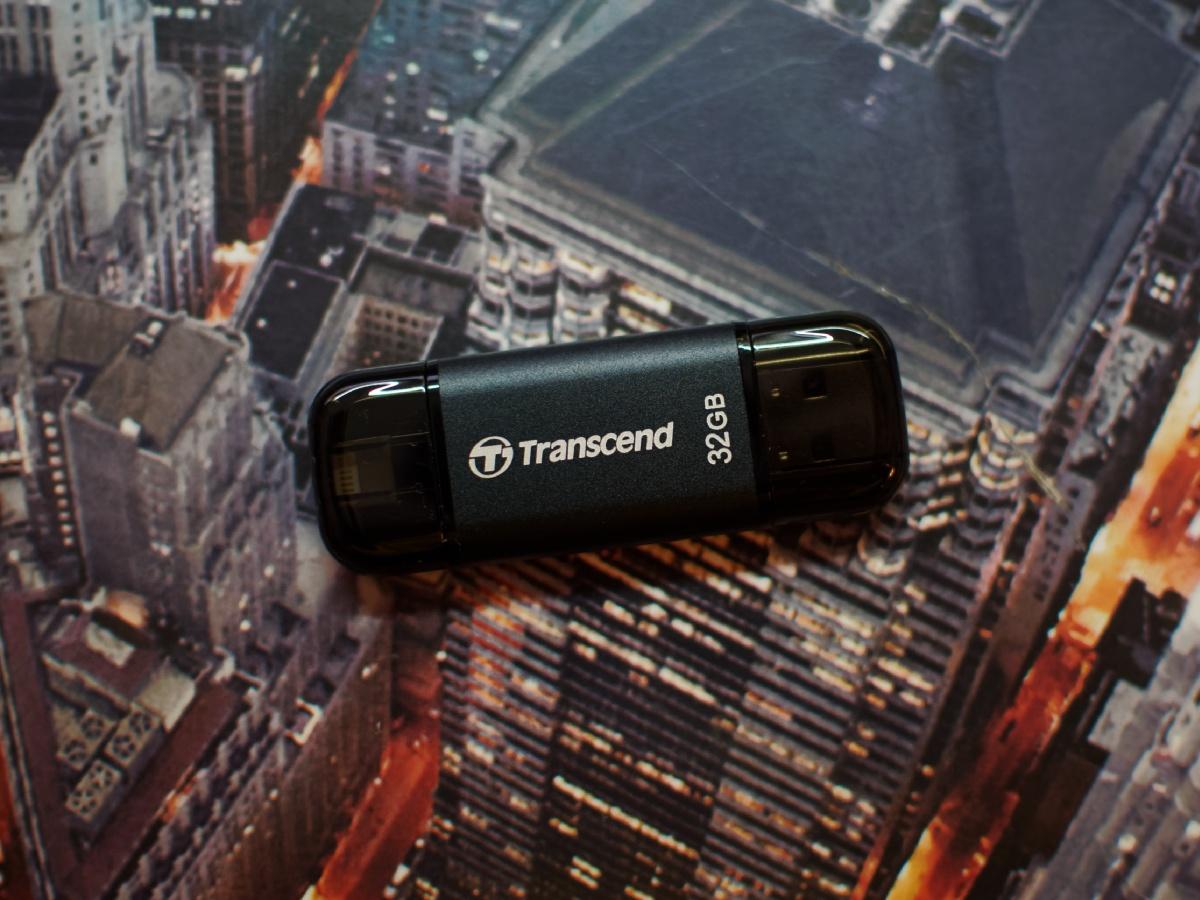 Обзор флешки USB-Lightning Transcend JetDrive Go 300K - 5