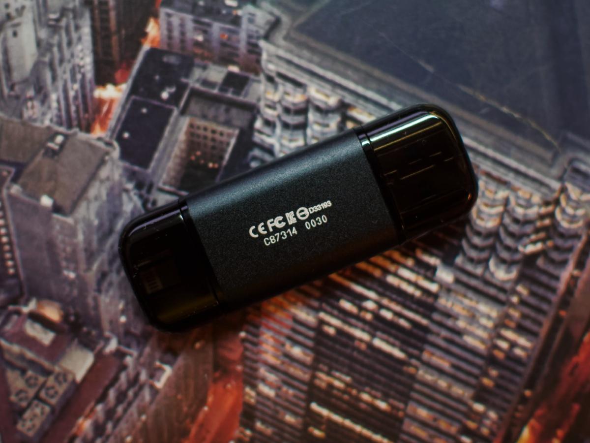 Обзор флешки USB-Lightning Transcend JetDrive Go 300K - 6