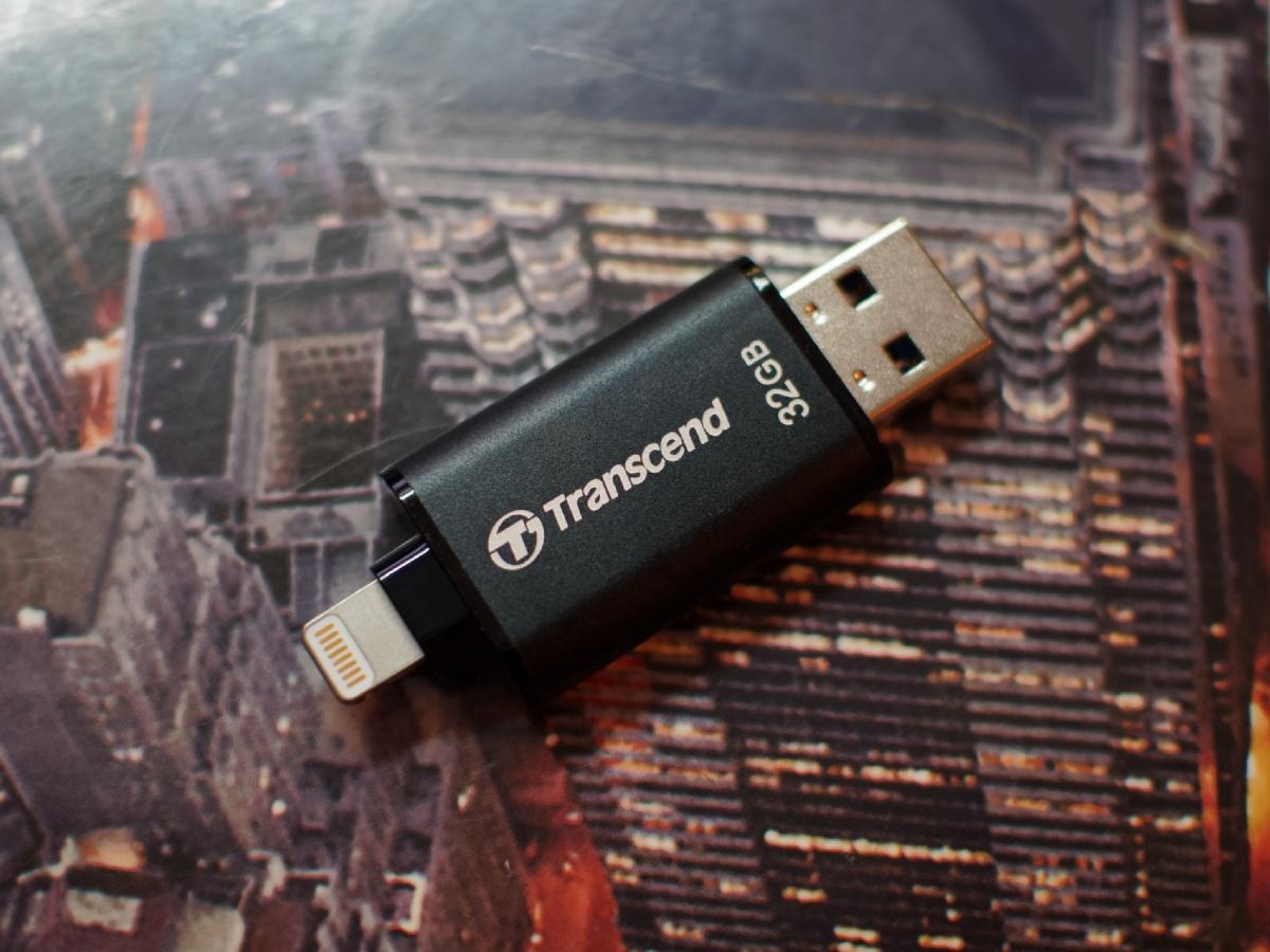 Обзор флешки USB-Lightning Transcend JetDrive Go 300K - 7