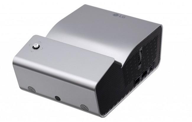 Портативный LED-проектор LG PH450U работает до 2,5 часов, выводят картинку диагональю 80