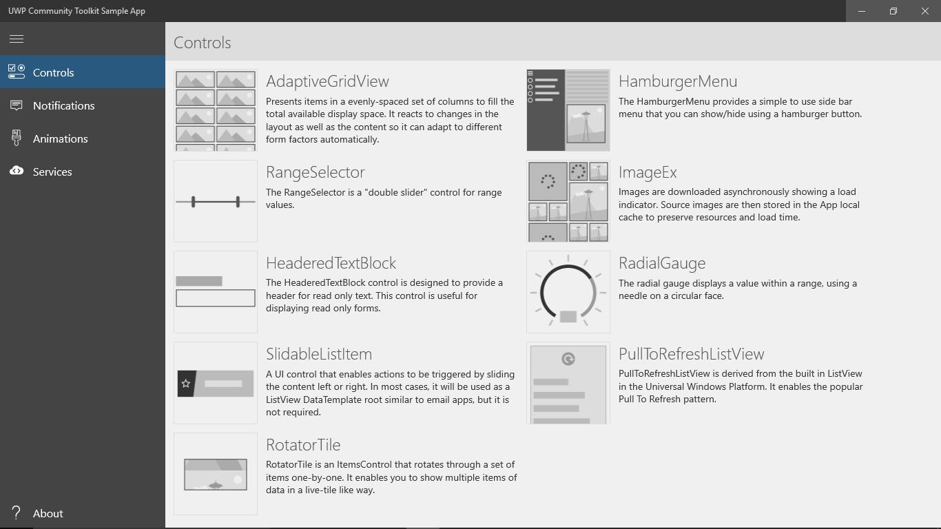 Представляем новый UWP Community Toolkit - 2