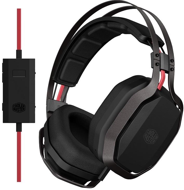 Гарнитура Cooler Master MasterPulse Over-ear получила скрытый микрофон и крупные громкоговорители