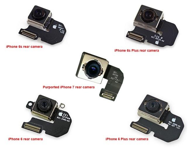 Фотография модуля камеры iPhone 7 подтверждает использование системы оптической стабилизации