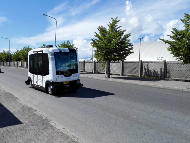 Финляндия начинает испытания беспилотных автобусов