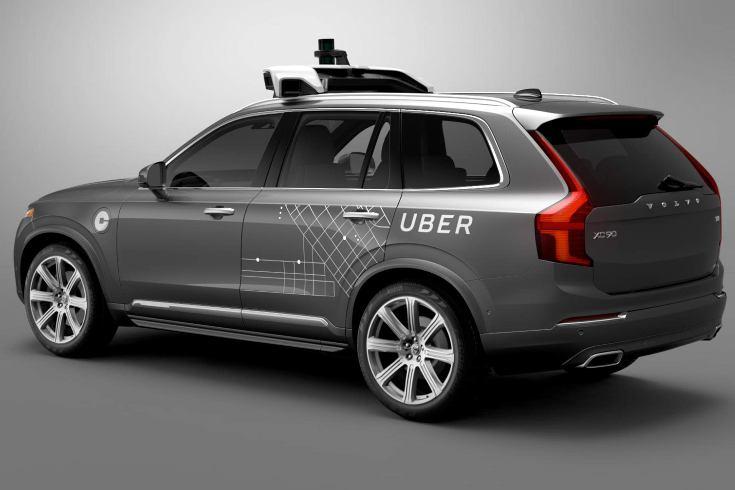 Volvo создаст для Uber около 100 беспилотных машин