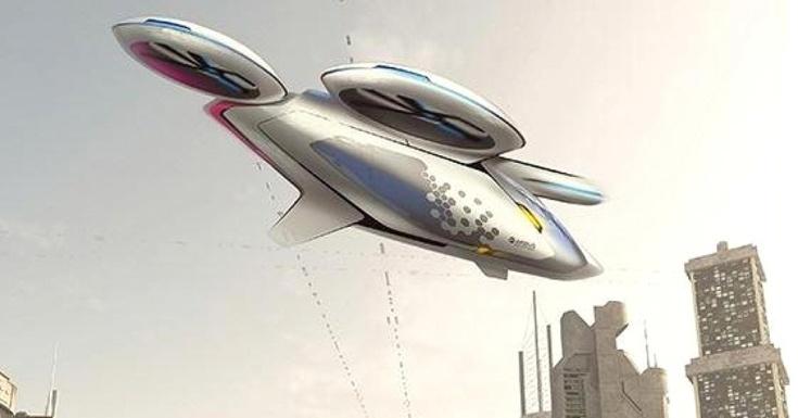 Airbus рассказала о дронах-такси