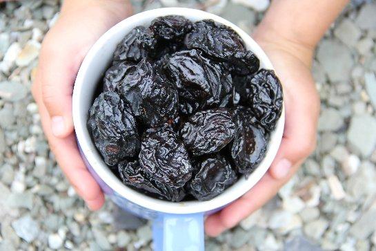Чернослив содержит вещества, защищающие от космического излучения