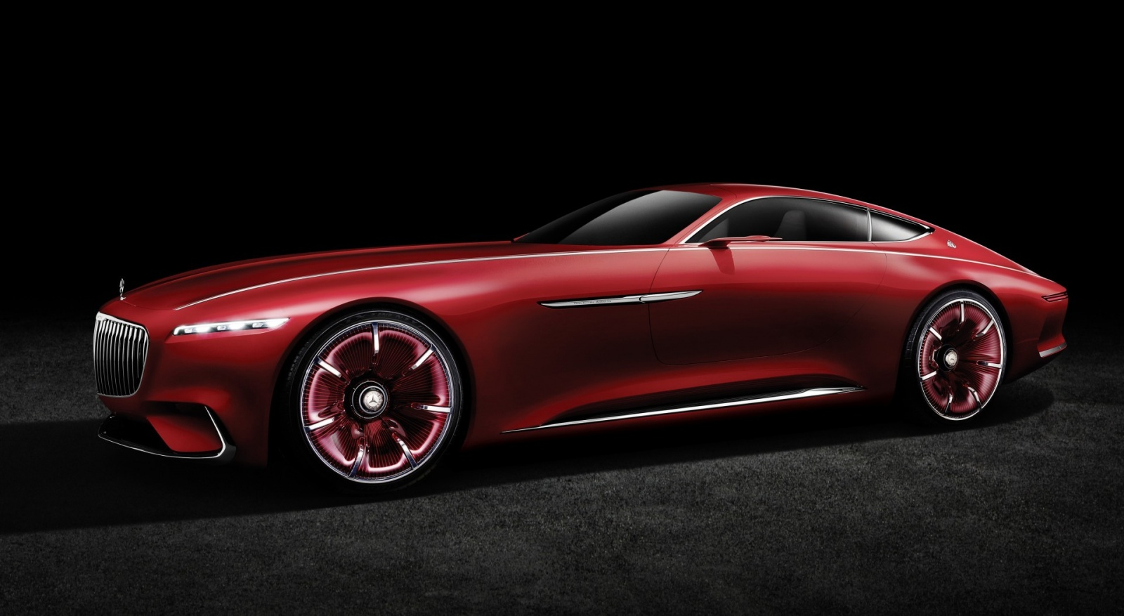 Проект шестиметрового электрокара Vision Mercedes-Maybach 6 - 2