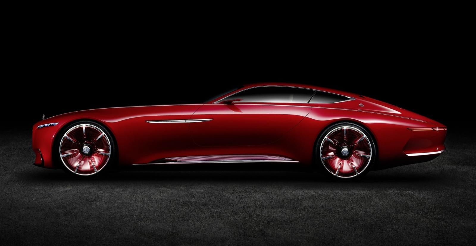 Проект шестиметрового электрокара Vision Mercedes-Maybach 6 - 3