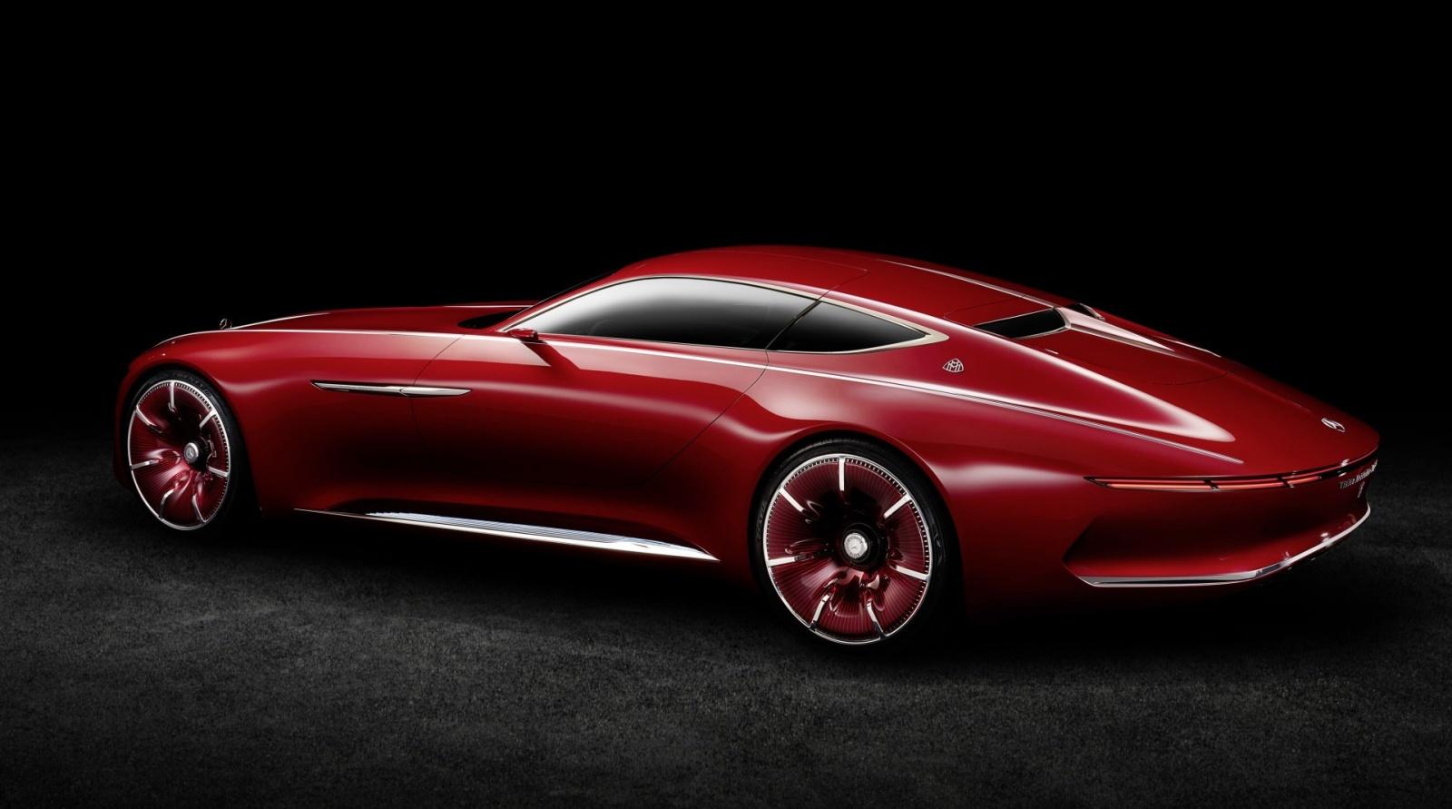 Проект шестиметрового электрокара Vision Mercedes-Maybach 6 - 4