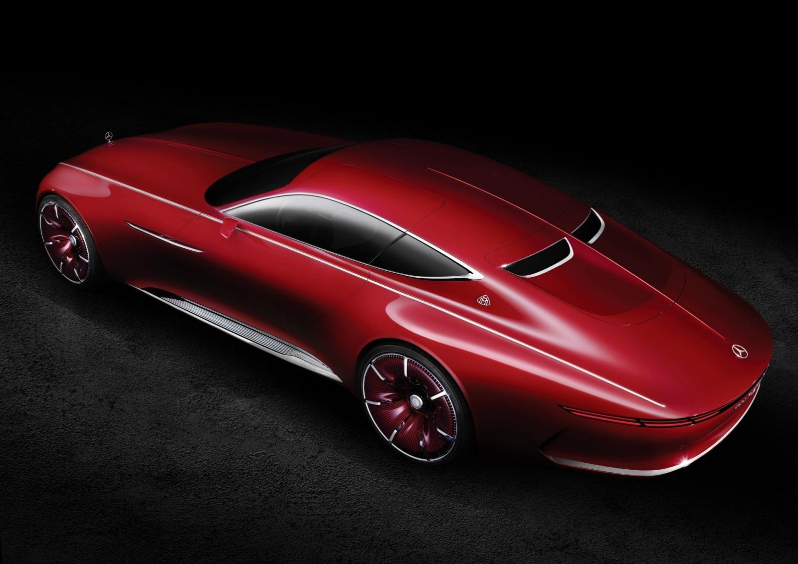 Проект шестиметрового электрокара Vision Mercedes-Maybach 6 - 5