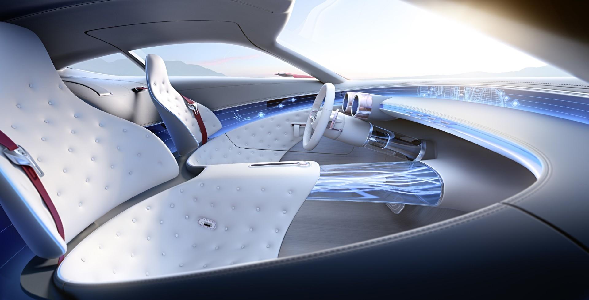 Проект шестиметрового электрокара Vision Mercedes-Maybach 6 - 8