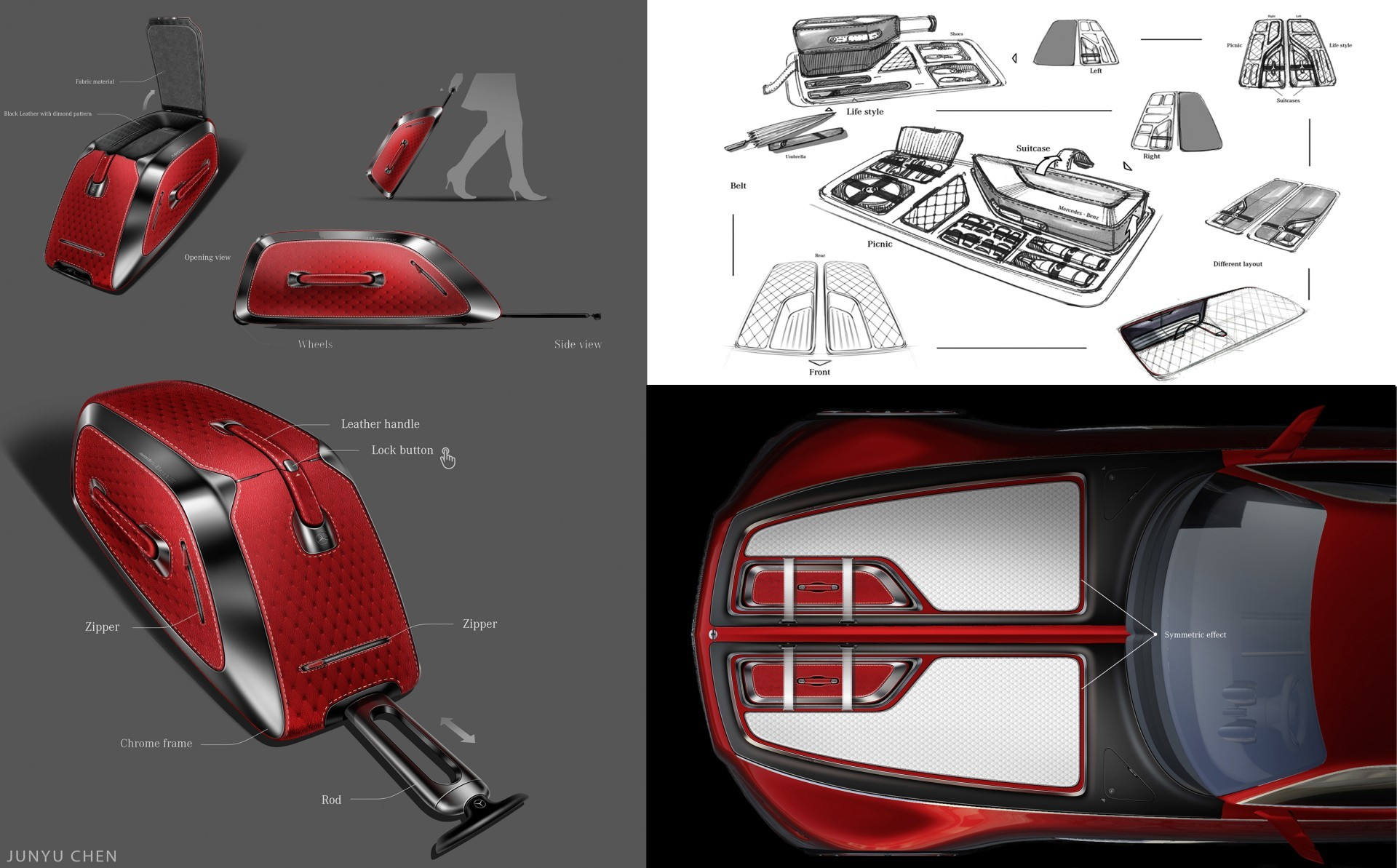 Проект шестиметрового электрокара Vision Mercedes-Maybach 6 - 9