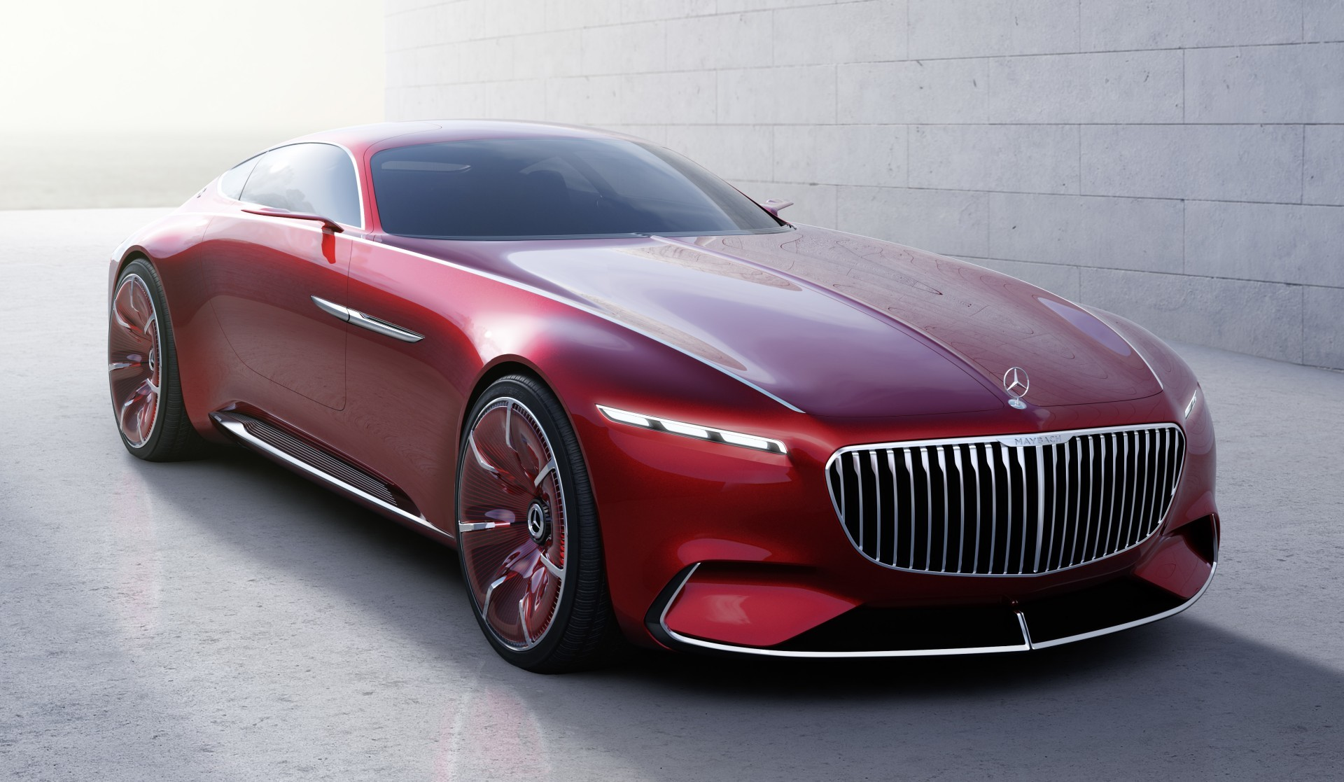 Проект шестиметрового электрокара Vision Mercedes-Maybach 6 - 1