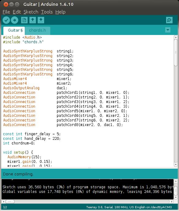 Teensy 3.5 & 3.6: две новых версии Arduino-совместимых плат - 5