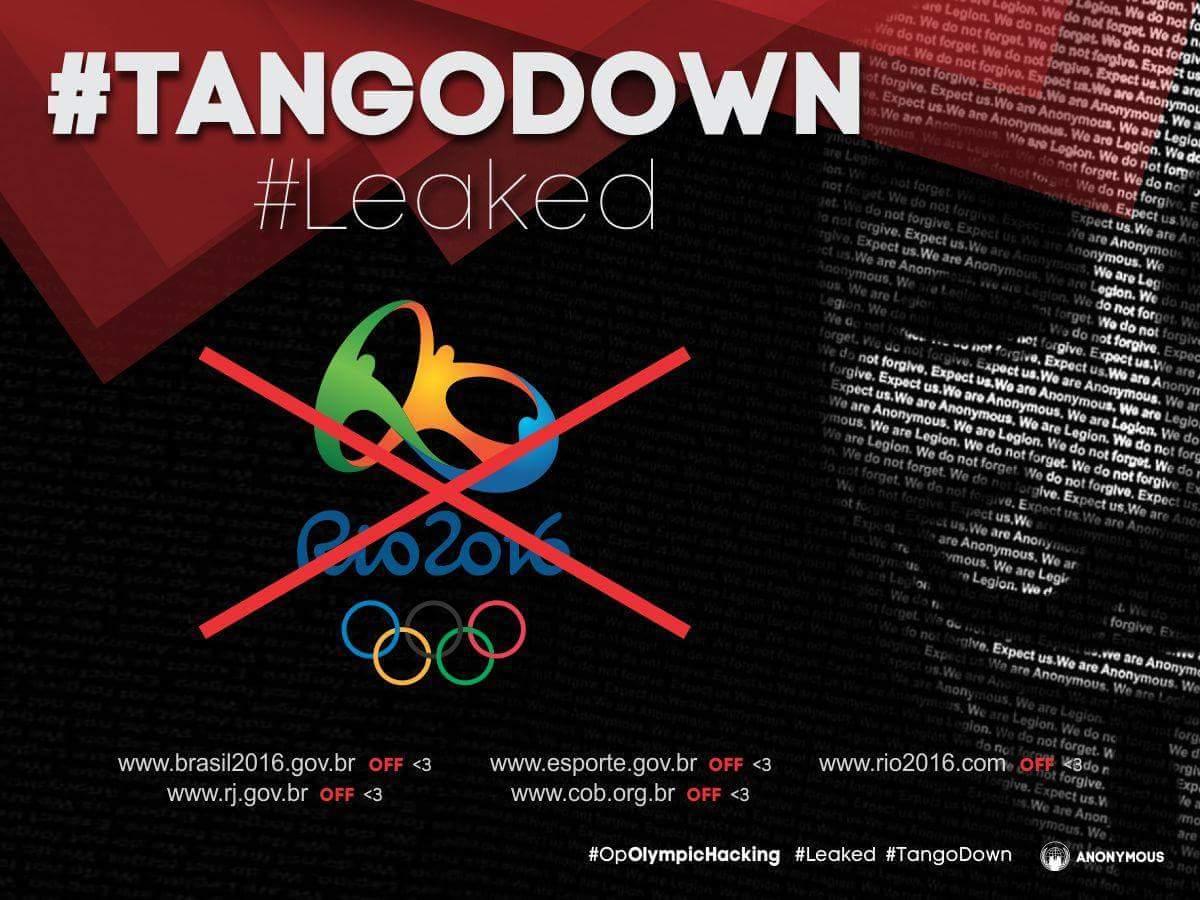 Основные мировые события, хактивизм и #OpOlympicHacking - 10