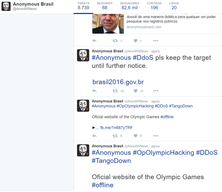 Основные мировые события, хактивизм и #OpOlympicHacking - 4
