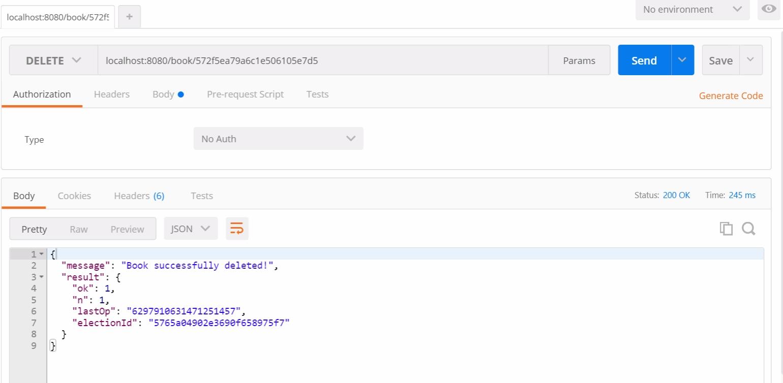 Тестирование RESTful API на NodeJS с Mocha и Chai - 10