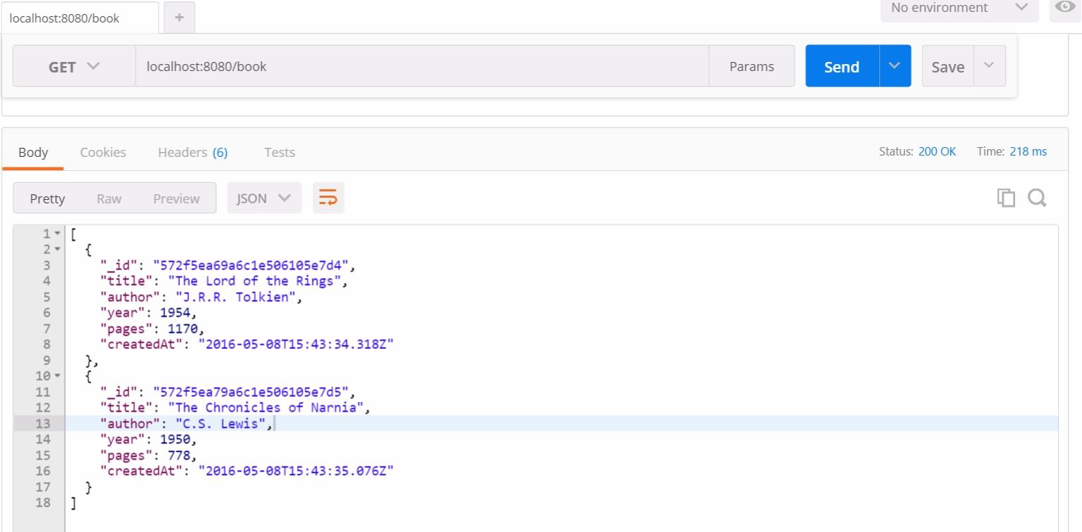 Тестирование RESTful API на NodeJS с Mocha и Chai - 4
