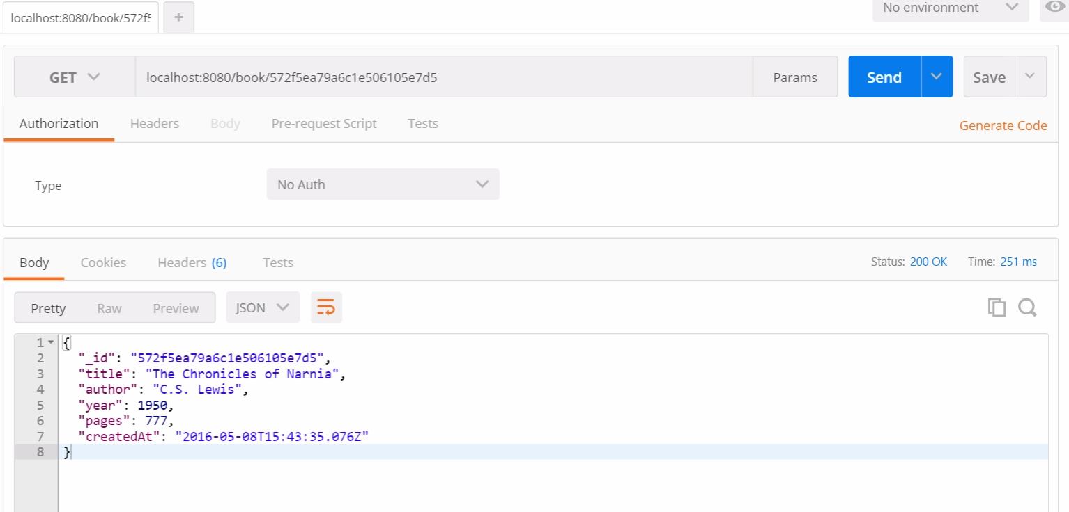 Тестирование RESTful API на NodeJS с Mocha и Chai - 9