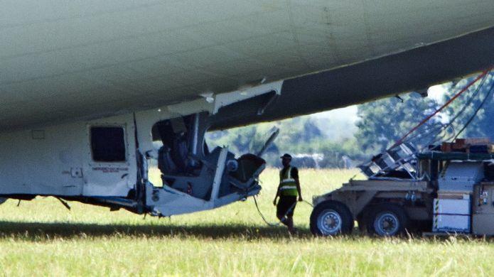Гигантский самолёт-дирижабль Airlander 10 потерпел аварию - 2