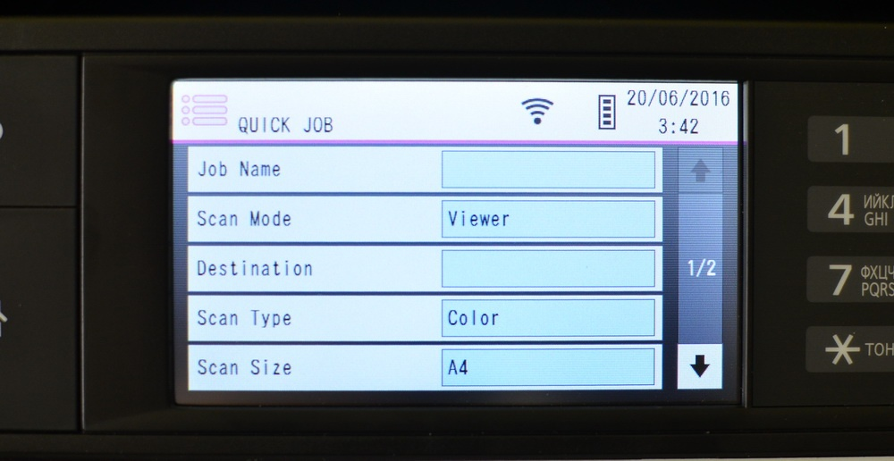 Офисная мечта: изучаем топовый МФУ Panasonic DP-MB545 - 19