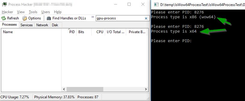Неожиданное поведение WinAPI-функции IsWow64Process() - 3