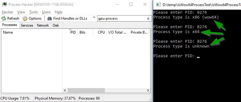Неожиданное поведение WinAPI-функции IsWow64Process() - 4