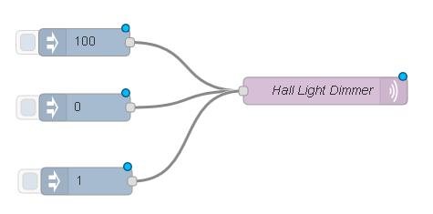 Программируем управление освещением по датчикам движения и освещения на Node-RED - 12