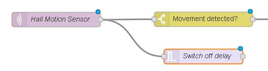 Программируем управление освещением по датчикам движения и освещения на Node-RED - 20
