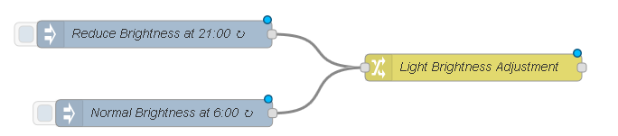 Программируем управление освещением по датчикам движения и освещения на Node-RED - 43