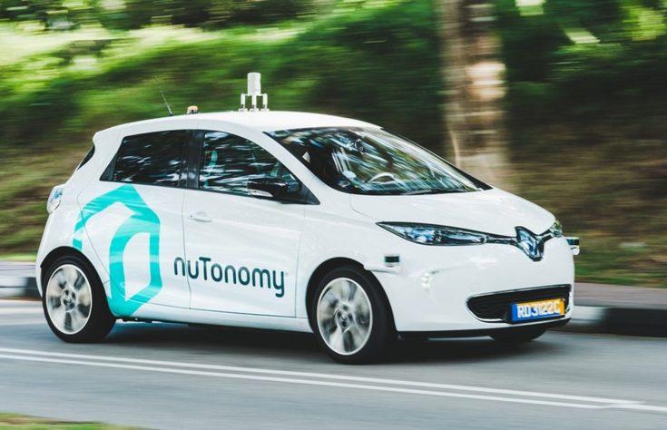 В Сингапуре уже можно прокатиться на робо-такси