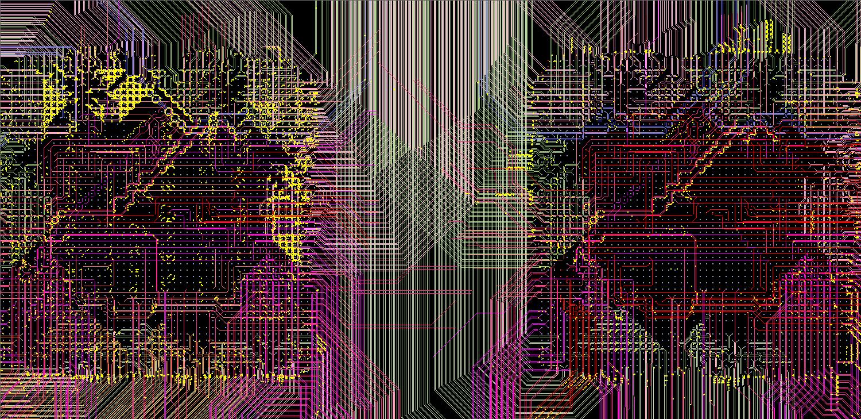 Дорожки между процессорами