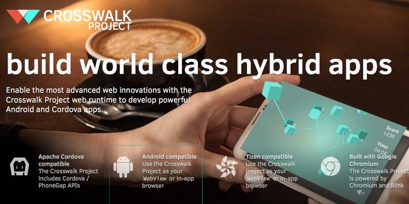 Crosswalk Project — замена Android WebView. Развитие проекта - 1