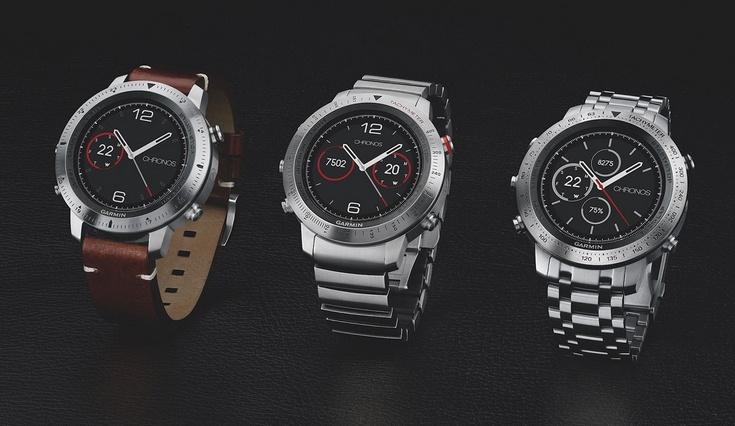 Часы Garmin Fenix Chronos предлагают собственную ОС и сапфировое стекло