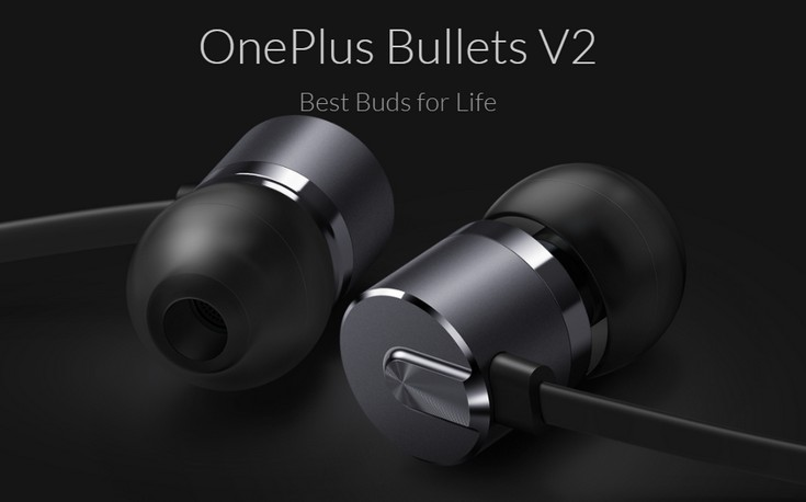 Наушники OnePlus Bullets v2 стоят 23 доллара