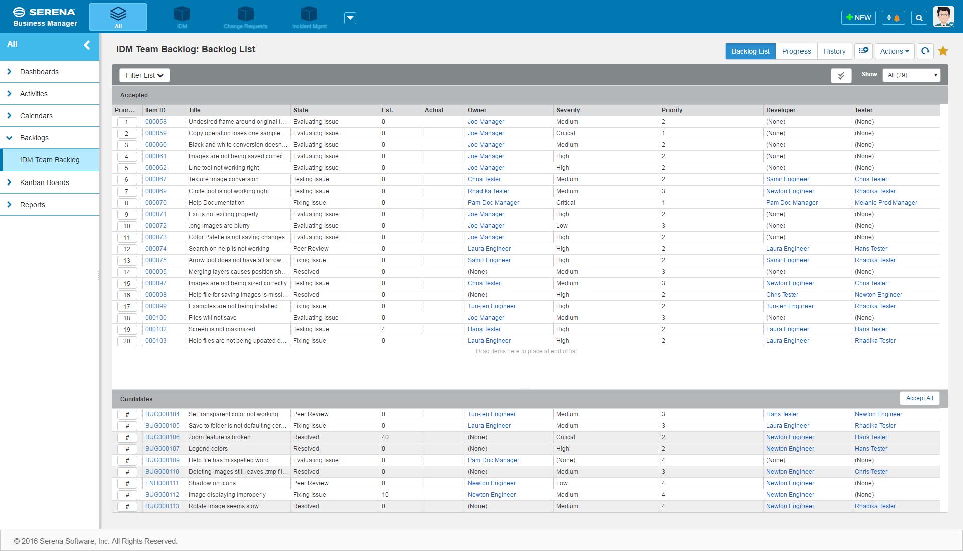 Serena выпускает версию 11.1 своей BPM платформы - 3
