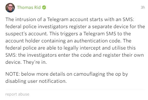 На Telegram обнаружена очередная успешная атака - 2