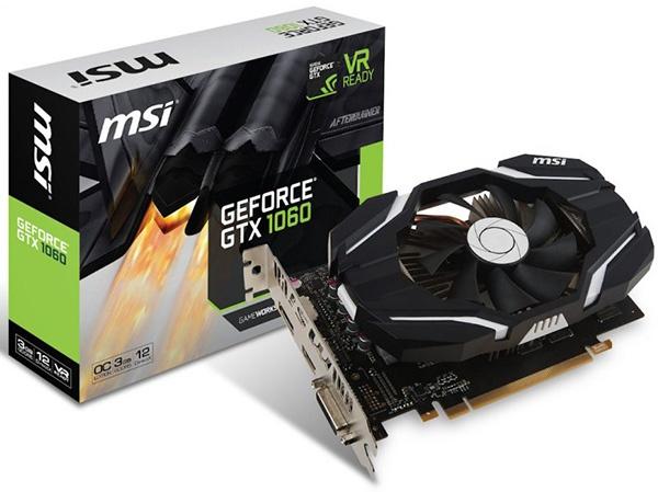 MSI GTX 1060 3GB OC V1