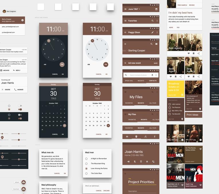 Оптимизируем свои трудозатраты при разработке приложения в Google Material Design - 5