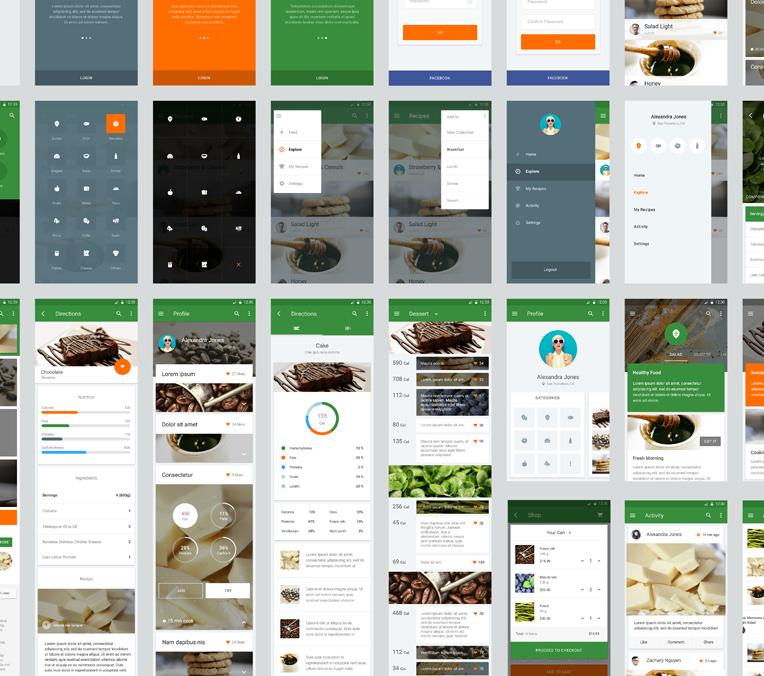 Оптимизируем свои трудозатраты при разработке приложения в Google Material Design - 6