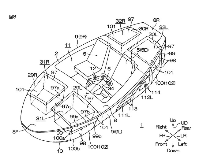 Yamaha работает над автомобилем-амфибией