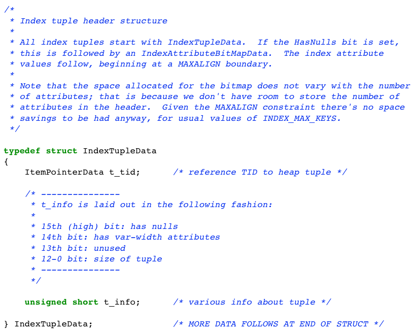 Информатика за индексами в Постгресе - 20