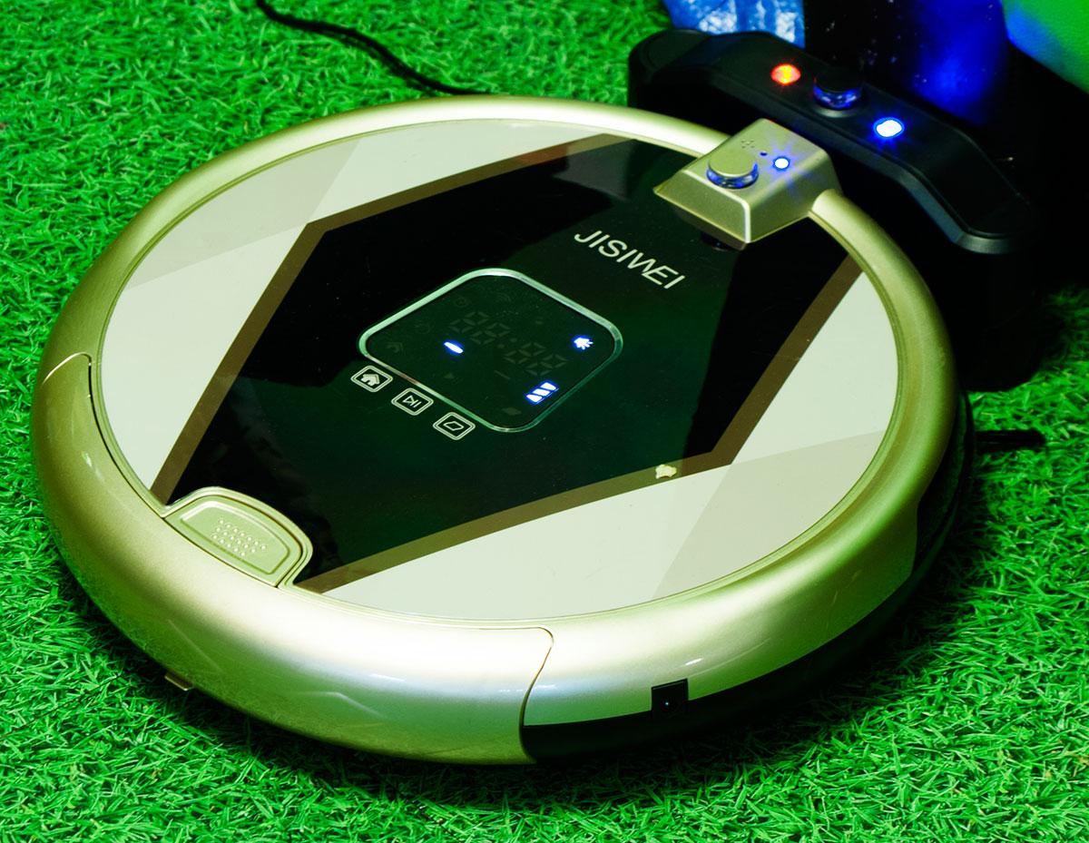 На длинном поводке: робот-пылесос Jisiwei S+ - 1