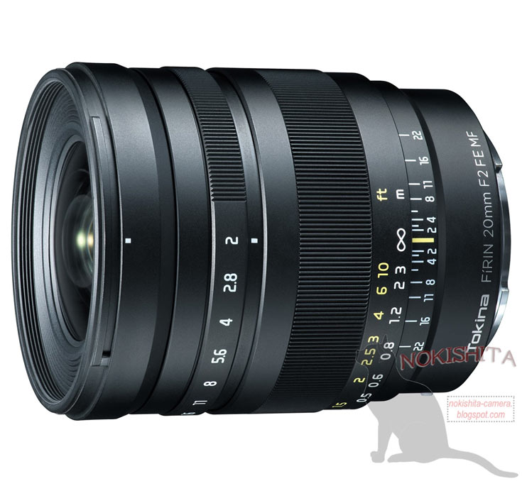 Анонс объектива Tokina FiRIN 20mm F2 FE MF ожидается на сентябрьской выставке Photokina