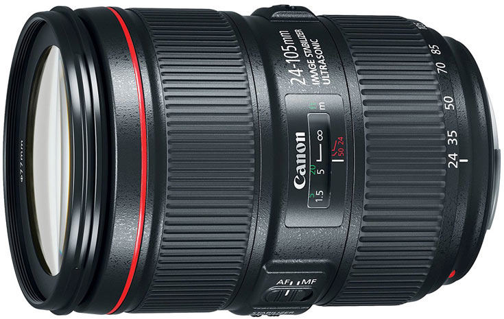 Объектив Canon EF 24-105mm F4L IS II USM оценен в $1100