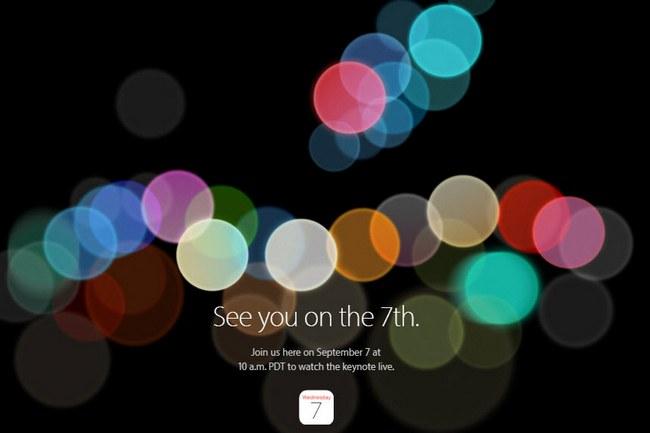 Apple назначила пресс-конференцию, посвященную новинкам компании, на 7 сентября 2016