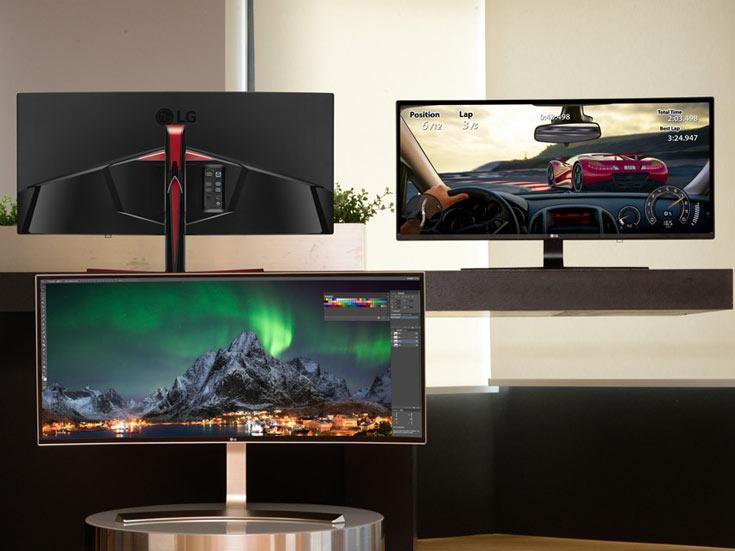 Модель UltraWide 38UC99 с 38-дюймовым экраном является самой большой в своей категории, а модель Curved UltraWide 34UC79G поддерживает частоту обновления 144 Гц