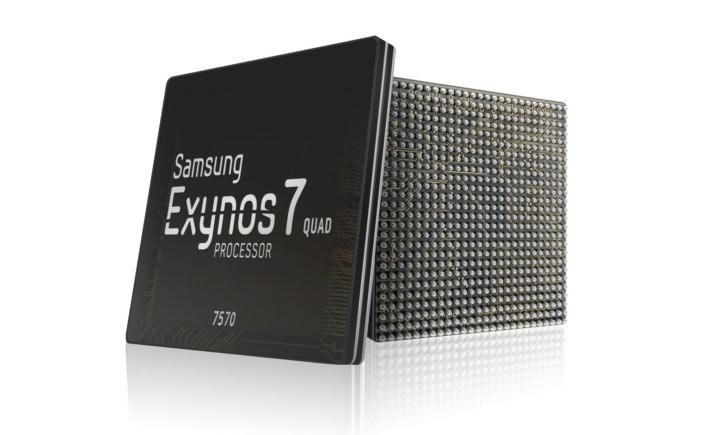 Конфигурация Exynos 7570 включает четыре ядра Cortex-A53
